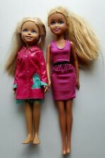 Mattel Wee 3 Friends doll blonde hair Stacie & Funville Sparkle Girl Blonde