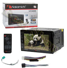 "Nakamichi NA3000 In-Dash 6.2"" Double DinTouch Screen DVD/CD/MP3/WMA Car Stereo"