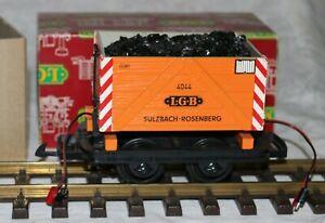LGB 4044 Sulzbach Rosenberg Short Wagon with Coal in Box