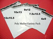 200 Poly Bag Mailer 5 Size Assortment Small To Large Shipping Envelope Bags