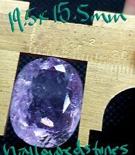 LARGE  26.40ct Oval Shape (19.75x15.25mm) Lilac Pink Kunzite Natural Gemstone