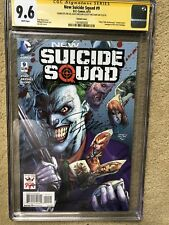 NEW SUICIDE SQUAD 9 CGC SS 9.6 JOKER VARIANT SIGNED 3X JIM LEE SINCLAIR WILLIAMS