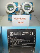 ENDRESS HAUSER PROMAG 33F 33ft50-fk1ba31a21a FLOW METER FLOW METER