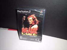 ACDC Live Rock Band Pack - Playstation 2 - Brand New and Sealed! Guitar Game