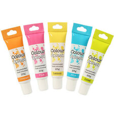 Colour Splash COLORANTE ALIMENTARE GEL SET-colori fluorescenti