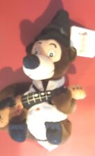 a Disney Country Critters Henry Mini Bean Bag Beanie w/tags Guitar