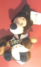 Disney Country Critters Henry Mini Bean Bag Beanie w/tags Guitar Bear