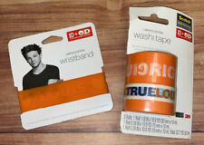 LOUIS TOMLINSON ONE DIRECTION WRISTBAND & WASHI OD ANTI-BULLYING LIMITED EDITION