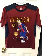 Lionel Messi Football Club Barcelona Youth Shirt Size Xl