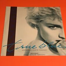 "MADONNA TRUE BLUE HOLIDAY UK 12""  RARE 1986"