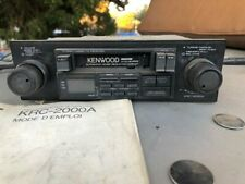 Kenwood Krc-2000A Shaft Style Car Stereo