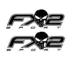 FX2 Sport Punisher Decals F150 and Super Duty Bedside Decals Ford