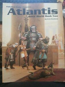 Rifts World Book 2 Atlantis Palladium Books