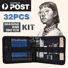 32pcs Drawing Sketch Sketching Set Art Craft Painting Kit Zippered Carry Case