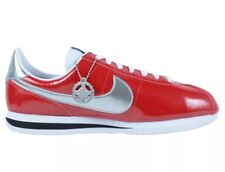new arrivals ae64f 0cef3 NIKE CORTEZ BASIC PREMIUM QS SIZE 7.5 - GYM RED WHITE SILVER 819721 600