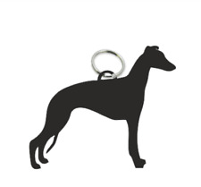 Whippet Dog Key Ring Fob Dogs Keys