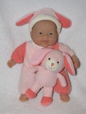 """Sweet 8"""" Berenguer Baby Doll With Bunny Toy"""