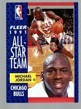1991-92 Fleer #211 Michael Jordan All Star