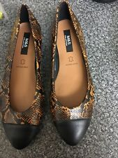 Marks And Spencer Size 3 Animal Print Shoe