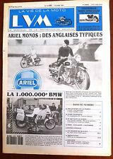 LVM - La Vie de la Moto n°8 du 15/04/1991; Ariel Monos/ Millionième BMW