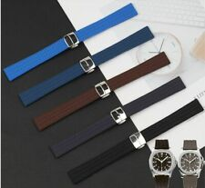 18 19mm Rubber Silicone Strap Watch Band Made For Patek Philippe Ladies Aquanaut