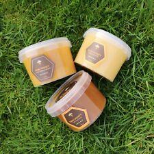 3 RAW honey SET 1.2kg LINDEN   BUCKWHEAT   FOREST FLOWER Pure & Unprocessed