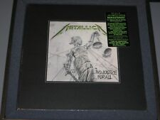 METALLICA And Justice for All Deluxe Boxset (6LP/11CD/4DVD)  New Sealed Vinyl