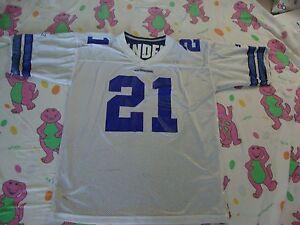 Vintage NFL Dallas Cowboys Deion Sanders Starter Reversible Jersey XL