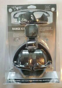 GLOCK Range Kit AP60214 Shooting Glasses, Earplugs, Ear Muffs 25db