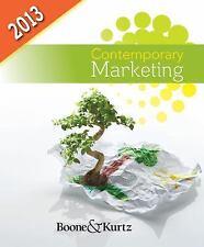 Contemporary Marketing, 2013 Update by David L. Kurtz and Louis E. Boone (2012,