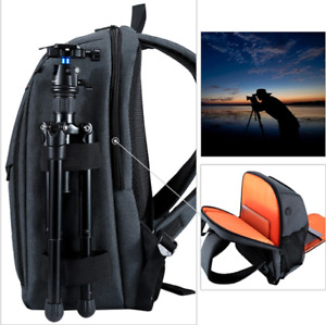 Camera Backpack Bag Canon Nikon Sony Waterproof Slr Sling Shoulder Case Lapatop
