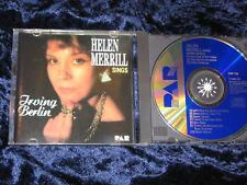 Helen Merrill CD Sing Irving Berlin 1987 made in the USA CDP 710 EX/EX
