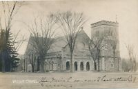 POUGHKEEPSIE NY – Vassar College Vassar Chapel Real Photo Postcard rppc - 1907