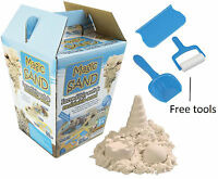 Magic Sand Play Sand Moldable Sand & Free Tools Like Clay