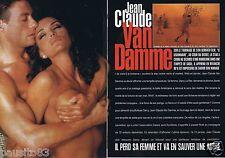 Coupure de presse Clipping 1998 Jean-Claude Van Damme  (4 pages)