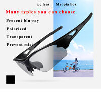 ROCKBROS Polarized Photochromic Cycling Glasses 3 in 1 lens Sunglasses