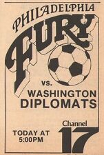 1979 Tv ad ~ PHILADELPHIA FURY/WASHINGTON DIPLOMATS/North American Soccer League