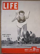 LIFE Aug 2 1948 Kinsey Report, London Olympics, H Wallace, Pershing, DW Griffith