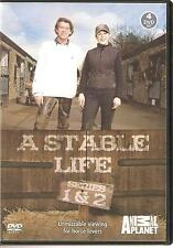 A STABLE LIFE SERIES 1 & 2 - 4 DVD BOX SET UNMISSABLE VIEWING FOR HORSE LOVERS