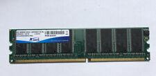 A-data 1GB DDR400 184-pin PC-3200U RAM DIMM AD1400001GOU 1Gx16