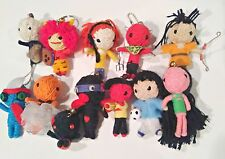Lot of 12 String Voodoo Dolls/Keychains (see descrip)