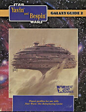 1989 Yavin-Bespin Galaxy Guide V2-Star Wars Role Playing Game-West End(40023)