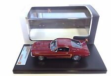 PREMIUM X  1/43  FORD MUSTANG  GT-390 FASTBACK 1966  BORDEAUX