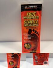 GRABBER Foot Warmer 5+ Hours (1) Pair Size M/L EXP. July 15th 2020 NEW