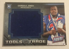 2016 Panini National Tools of Trade TOWEL RC Relic CARDALE JONES Bills/Ohio St.