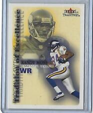 2000 Fleer Tradition Randy Moss Tradition of Excellence  2 (Minnesota  Vikings) bc437908d
