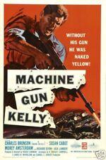 Machine gun Kelly Charles Bronson cult movie poster print