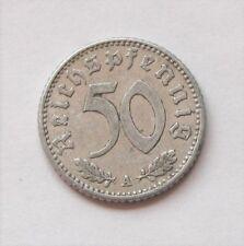 50 Reichspfennig 1942 A Deutsches Reich Allu Münze