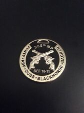 US Army 205th Military Police Challenge Coin