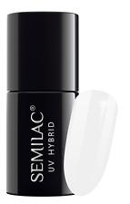 Semilac UV Hybrid Nail Polish 7 Ml & Original 001 Strong White